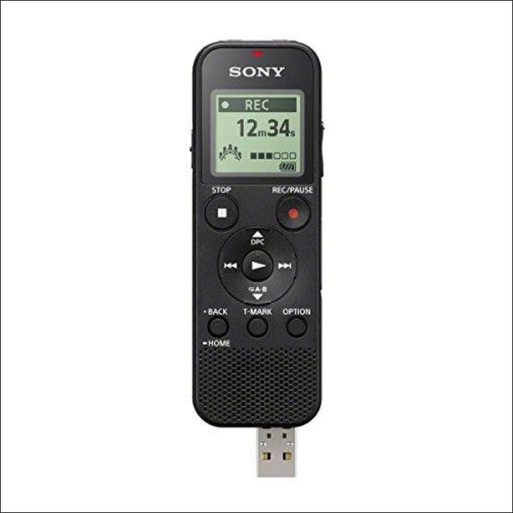 Sony ICDPX370 Mono Digital Voice Recorder with Built-in USB, Black - AmazinTrends.com