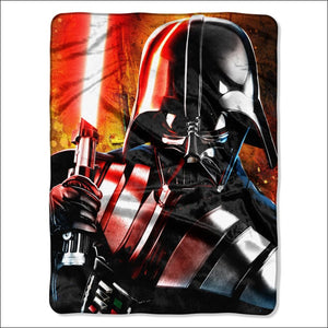 "Star Wars Classic Master of Evil Licensed 46""""x 60"""" High Definition Silk Touch Throw  by The Northwest Company - AmazinTrends.com"