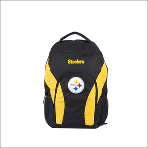 "Steelers OFFICIAL National Football League, """"Draft Day"""" 18""""H x 10"""" (12"""" Back) Backpack  by The Northwest Company - AmazinTrends.com"