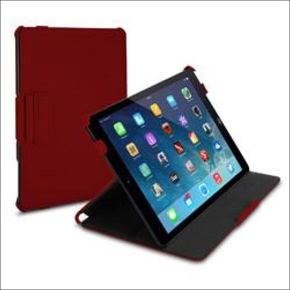 Targus Ultra Twill Vuscape Case for iPad Air, Red - AmazinTrends.com