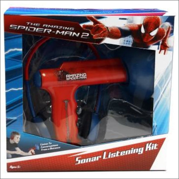 The Amazing SpiderMan 2 Sonar Listening Kit - AmazinTrends.com