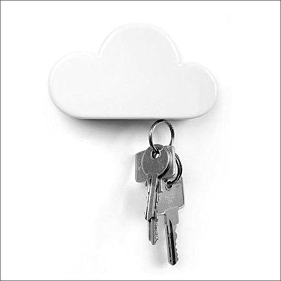 White Cloud Magnetic Wall Key Holder - AmazinTrends.com
