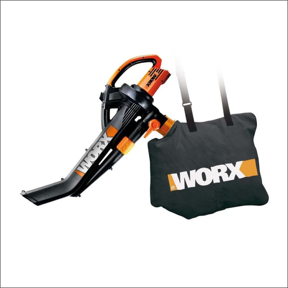 WORX WG509 Electric TriVac Blower/Mulcher/Vacuum & Metal Impellar Bag and StrapWORX WG509 Electric TriVac Blower/Mulcher/Vacuum & Metal Impellar Bag and Strap - AmazinTrends.com