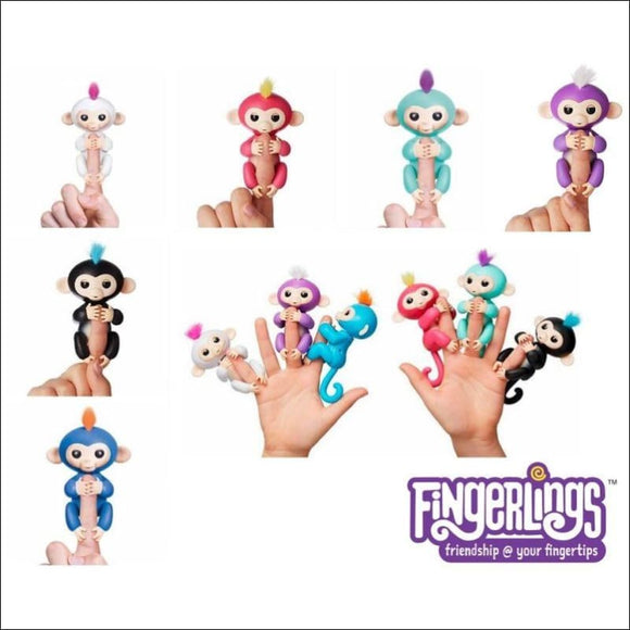 WOWWEE Interactive Finger Monkey lings - AmazinTrends.com