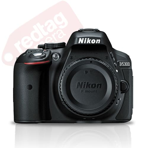 Nikon D5300 24.2 MP CMOS Digital SLR Camera Body with Built-in Wi-Fi and GPS