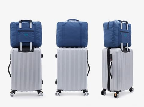 a group of different types of luggage