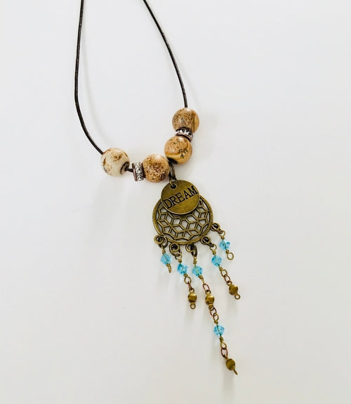 BoHo Dream Catcher Necklace - Looks and Goods