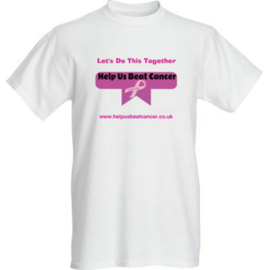 Short Sleeve Unisex T-Shirt For Men And Women-T-Shirt-Help Us Beat Cancer