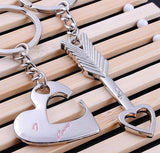 Cupid Arrow With Love You For Couple Key Ring-Key Ring-Help Us Beat Cancer