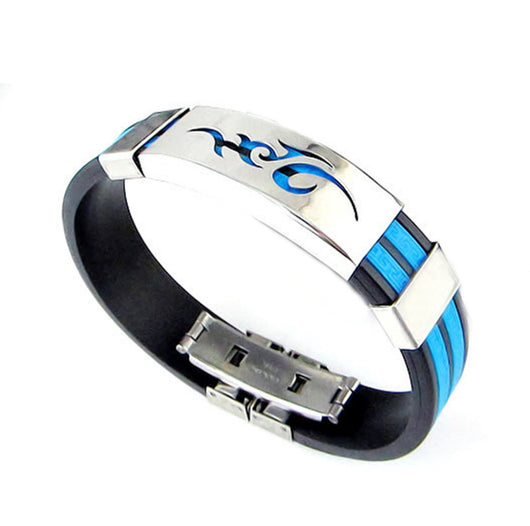 Pancreatic And Prostate Cancer Colour Silicone Totem Bracelet For Women Or Men-Bracelet-Help Us Beat Cancer