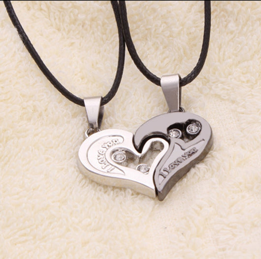 I Love You Heart Necklace-Necklace-Help Us Beat Cancer