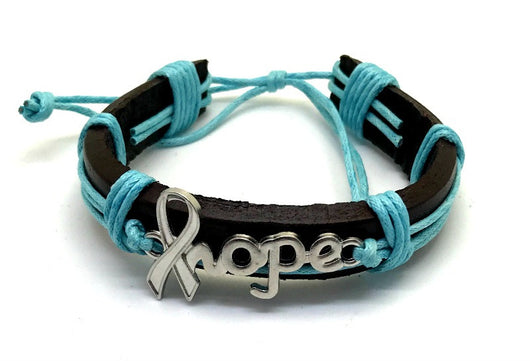 Prostate Cancer Awareness Bracelet Hope For Men-Bracelet-Help Us Beat Cancer