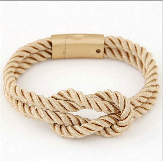 Braided Gold Child Cancer Unity Cancer Bracelet Men And Women-Bracelet-Help Us Beat Cancer