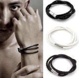 Handmade Multilayer Black Bracelet For Men And Women-Bracelet-Help Us Beat Cancer