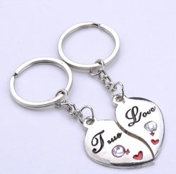 True Love Heart Key Ring-Key Ring-Help Us Beat Cancer