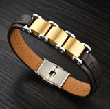 Trendy PU Leather Bangle Bracelet For Men And Women-Bracelet-Help Us Beat Cancer