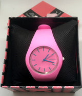 Pink Ultra Thin Silicone Strap Watch-Watch-Help Us Beat Cancer