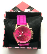 Pink Quartz Ladies Analog Wrist Watch-Watch-Help Us Beat Cancer