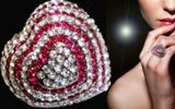 Crystal Heart Shaped Ring-Ring-Help Us Beat Cancer