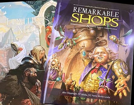 Our RPG Book Additions