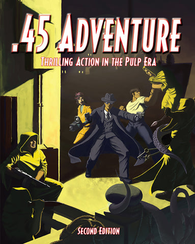 .45 Adventure 2nd Edition (Softcover Version)