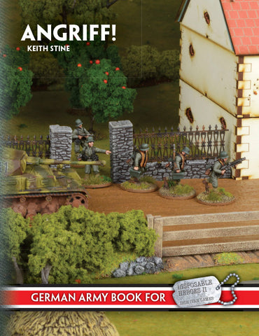 Angriff: The German Army in WWII 2nd Edition (PDF Version)