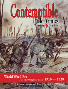 Contemptible Little Armies 3rd Ed. (Softcover version)