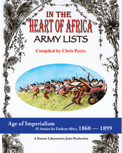 In the Heart of Africa Army Lists (PDF Version)