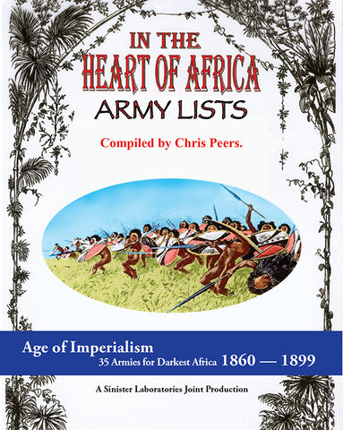 In the Heart of Africa Army Lists (Softcover Version)