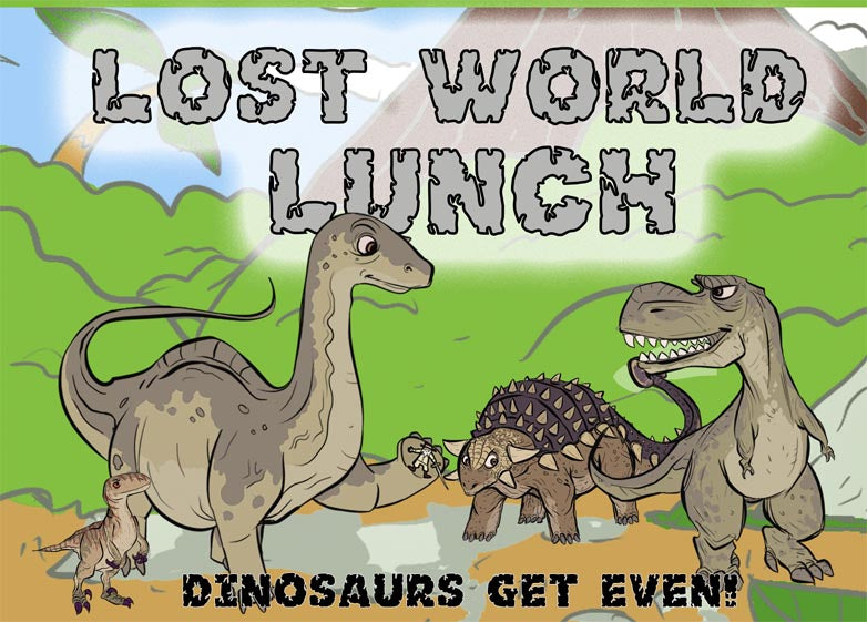Lost World Lunch (Card Game)