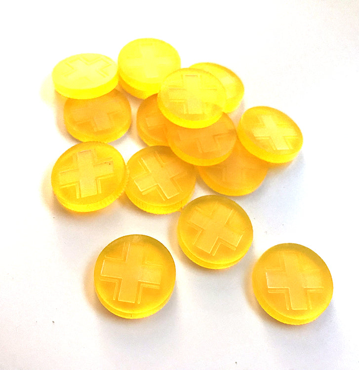Activation/Guts Token, Yellow (Disposable Heroes 2)