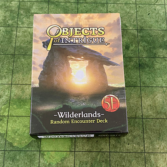 Objects of Intrigue: Wilderlands (53-Card Deck)