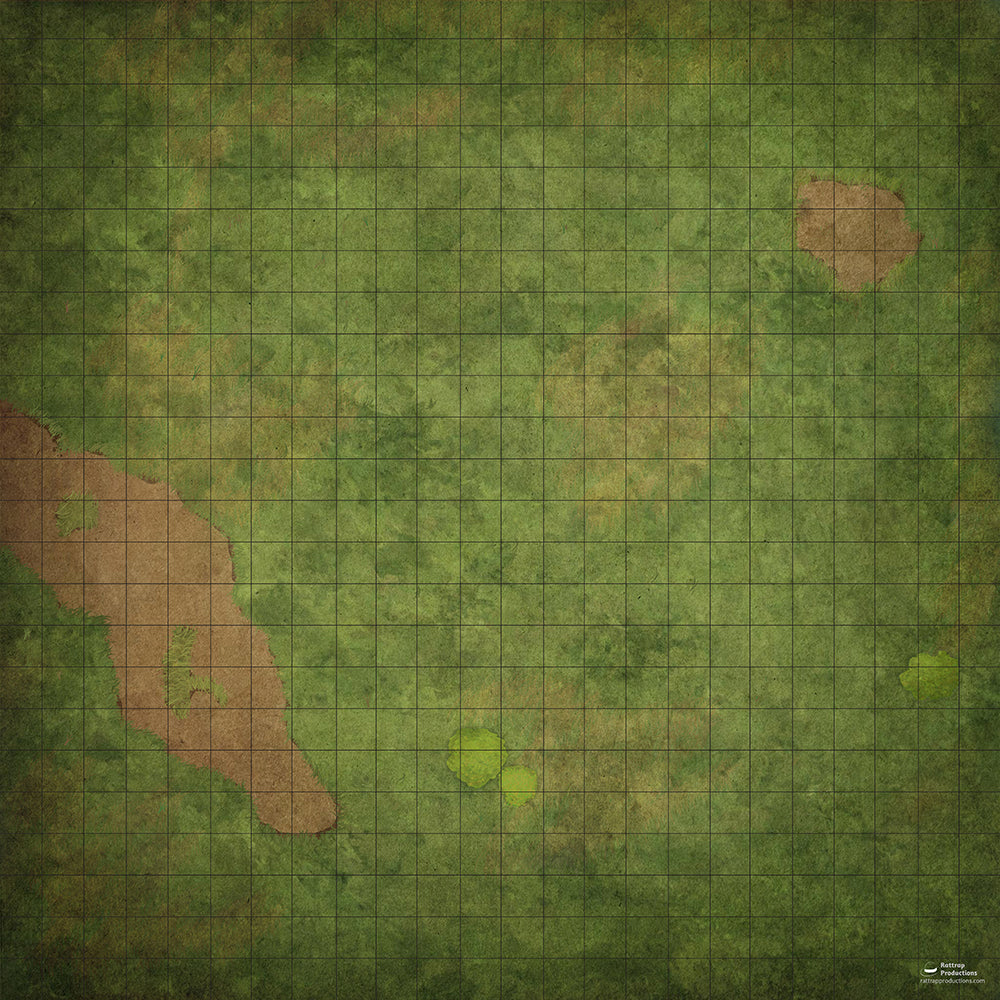 RatMat Battle Map Grass Field