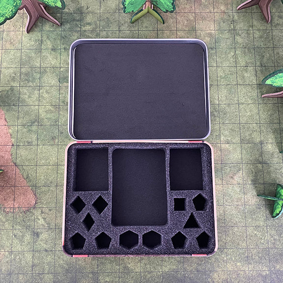 Wizard's Grimoire Metal Dice Case