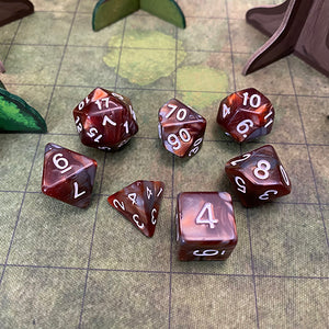 Skullsplitter Dwarven Mine 7-Dice Set