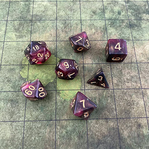 Skullsplitter Hag's Hearth 7-Dice Set