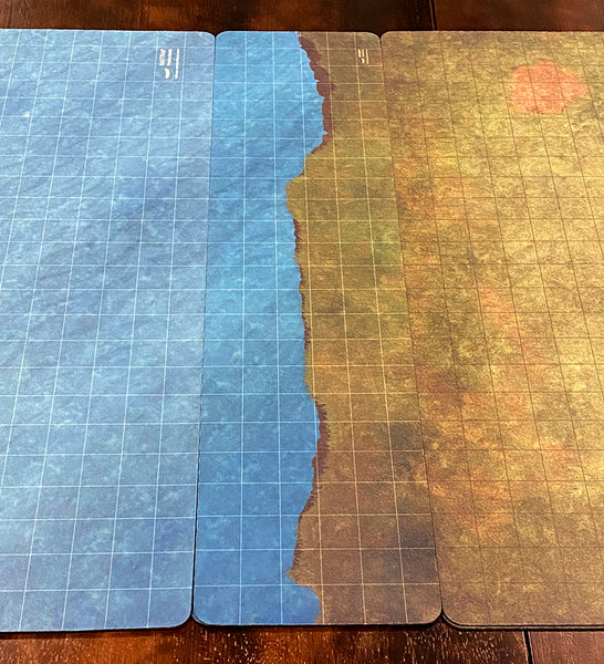 RatMat Transition Map Grass/Water