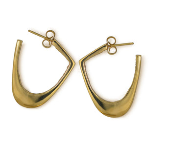 Dune Hoop Earrings