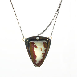 Idaho Jasper Earth Pendant