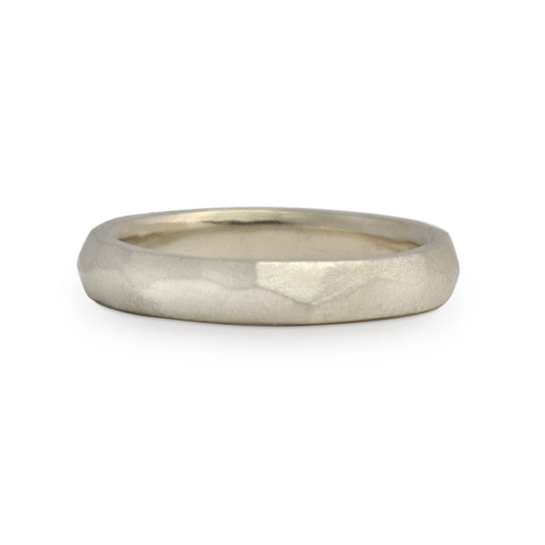 Men's Chiseled Wedding Band