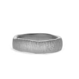 Sand Lines Wedding Band