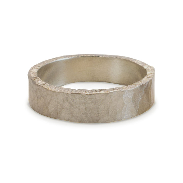 Men's Flat Hammered Band