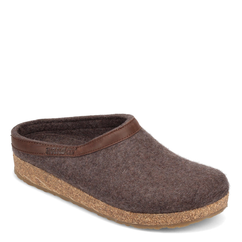 WOOL CLOG/LEATHER
