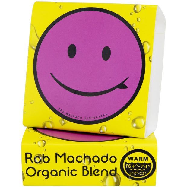 ORGANIC ROB MACHADO SURF WAX - WARM 64°- 74°