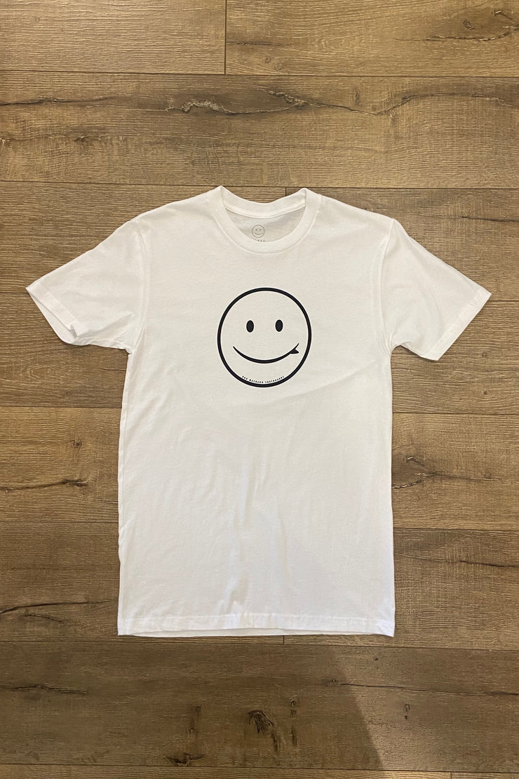 ROB MACHADO SMILEY TEE 2.0 - WHITE