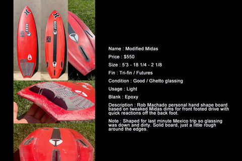 MODIFIED MIDAS 5'3