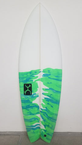 Rob Machado Surfboard (Stock) - Seaside 5'3