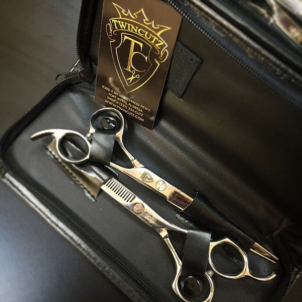 TwinCutZ Barber Shears set