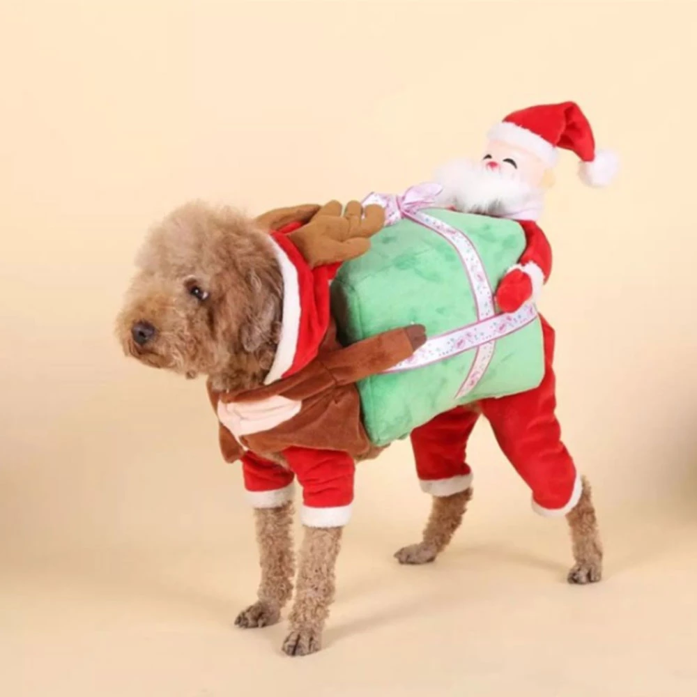 Adorable Doggy Christmas Costume
