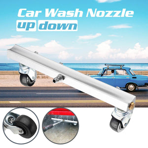 CAR CHASSIS WATER SPRAY AND GROUND CLEANING NOZZLE